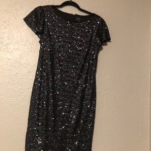 Small black sparkly dress in perfect condition